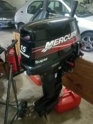 Motor de popa Mercury Super 15 (18 hp) - 2011