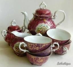Jogo Antigo de Chá