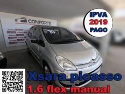CitroËn xsara picasso 2010 1.6 i exclusive 16v flex 4p manual - 2010