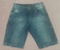 Bermuda jeans masculina, nova, Calvin Klein, tamanho 40