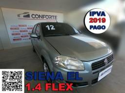 Fiat siena 2012 1.4 mpi el 8v flex 4p manual - 2012