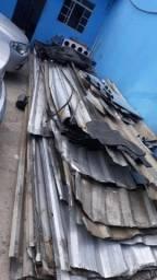 Telha de zinco de 3 metros e 6 metros