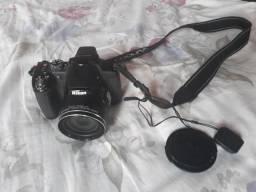 Nikon P530 com adaptador wi fi