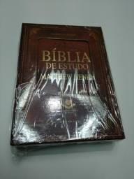 Biblia de Estudo Matthew Henry