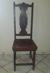 Cadeiras de madeira Ipê massiça