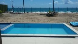Casas e apartamentos na beira-mar da Praia de Muro Alto