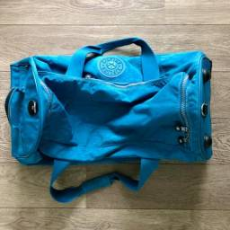 Bolsa de viagem azul Kipling