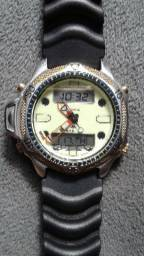 56a551137b7 Relógio original Quartz série ouro