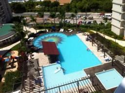 Apartamento resort em Penha com 3 quartos