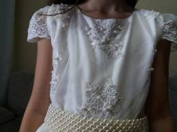 Lindo vestido para daminha, festa e formatura