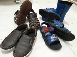 Combo calçados menino