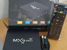 TV BOX MXQ PRO 4K/5g - APARELHO NOVO - ENTREGA GRATUÍTA