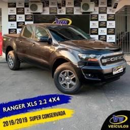 RANGER 2019/2019 2.2 XLS 4X4 CD 16V DIESEL 4P AUTOMÁTICO
