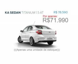 Ford Ka sedan Titanium 1.5 Automático 20/21