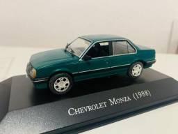 Miniatura Monza 1988 4p Carros Inesquecíveis 1/43