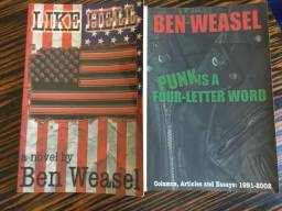 Livros Ben Weasel (Screeching Weasel, Riverdales, Lookout records, Green Day)