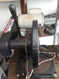 Policorte angular com motor 3,5cv alta rotação Weg Monofásico