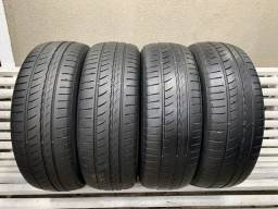 Jogo de Pneus 185/55/16 Pirelli - Pneu 185/55r16 Modelo Cinturato P1
