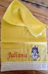 Toalha lavabo enfermagem Juliana