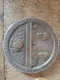 Medalhão Comemorativo Primeiro Centenário Farroupilha