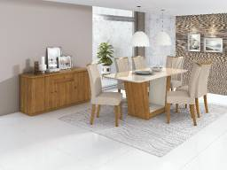 Mesa 6 Cadeiras Apogeu! whatsapp *