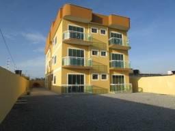 Rio das Ostras, Apartamento Térreo 62,14m2, Quintal Exclusivo, a 400 Metros da Praia