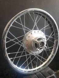 Roda Traseira Fan 125 Completa.