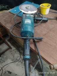 Esmerilhadeira angular Makita GA7020 azul-turquesa 220V