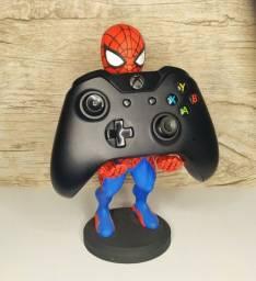 Homem-Aranha suporte para controle de vídeo game e celular