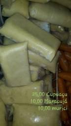Poupas de cupuaçu