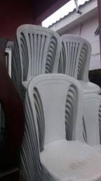 Vendo lote de cadeiras plásticas sem branco toplast