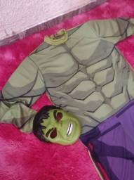 Fantasia do Hulk tamanho adulto