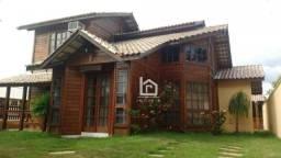 Casa em condomínio fechado em Guarapari com 3 dormitórios à venda, 150 m² por R$ 430.000 -