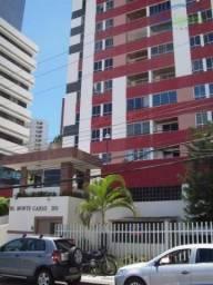 Apartamento com 3 dormitórios para alugar, 75 m² - Pituba - Salvador/BA