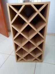 Título do anúncio: Porta vinho mdf