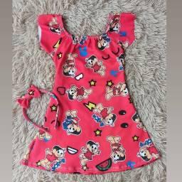 Vestido luxo infantil