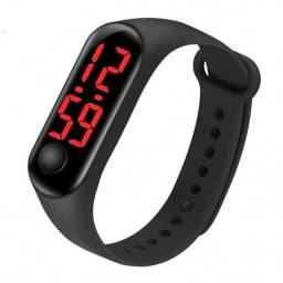 Título do anúncio: Relógio de Pulso Digital com LED Unissex Esportivo