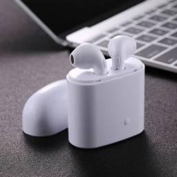 Fone sem fio Bluetooth i7s - Novo na caixa