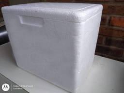 Título do anúncio: Kit Caixa de Isopor 8l + 2 Gelo Gel