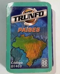 Card Super Trunfo Coleção Antigo Grow Países 01403 Original (Detalhe)
