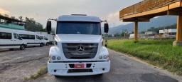 MB Atron 1635 S cavalo ano 2012 com carreta Basculante Rossetti ano 2013 conjunto