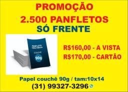 2.500 Panfletos