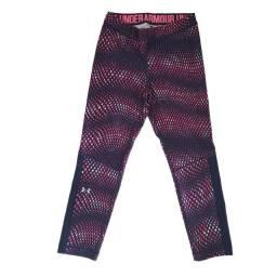 Título do anúncio: Calça Legging Under Armour Original Esportiva Fitness Azul Rosa P Importada