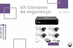 Título do anúncio: Kit câmeras