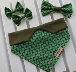 Título do anúncio: Bandanas, laços e gravatas pet
