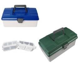 Caixa PB Box 001 - Pesca Brasil / Verde (Acompanha Mini Estojo) Promoção!!!!!!!!