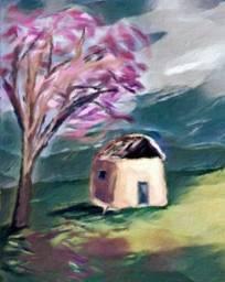 Título do anúncio: Pintura em tela quadro decorativo paisagem