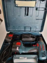 Título do anúncio: Parafusadeira a bateria bosh gsr12-2