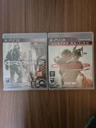 Título do anúncio: Jogos Crysis 2 e 3 - PS3