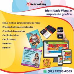 Título do anúncio: Identidade visual e impressão gráfica